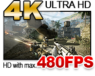 4K ULTRA HD, 144FPS